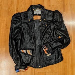 Rachel Rachel Roy Black Leather Jacket